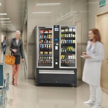 Distributeur automatique boissons, snacks