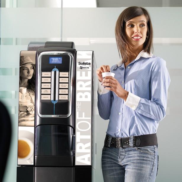 Distributeur automatique boissons chaudes, Lavazza Solista