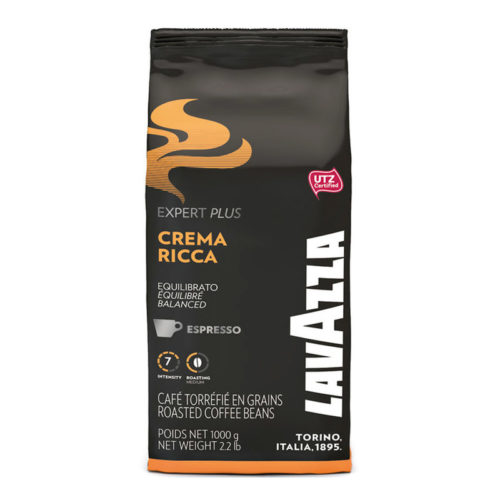Café en grains Lavazza crema ricca 1kg