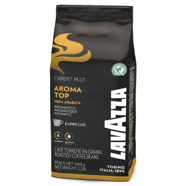 Café en grains Lavazza Aroma top expert plus 1kg