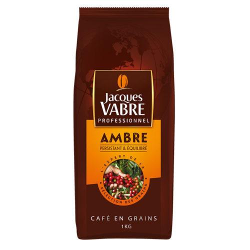 Café en grains Jacques Vabre ambre 1kg