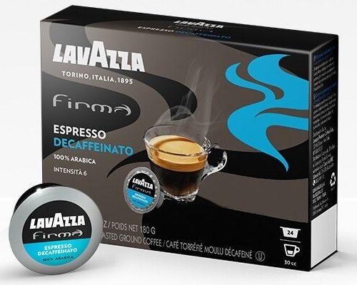 lavazza capsule firma espresso decaffeinato